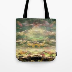 Head in the Clouds by Debbie Porter - Designs of an Eclectique Heart Tote Bag