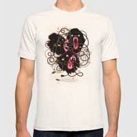 Tangle Mens Fitted Tee Natural SMALL