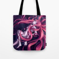 Swirly Hair Tote Bag