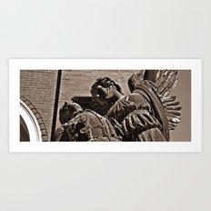 the grace Art Print