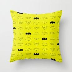 batpatt Throw Pillow