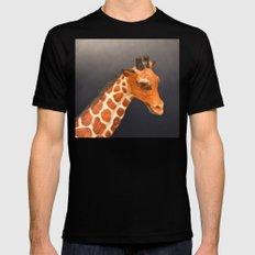Giraffe My Pretty Black SMALL Mens Fitted Tee