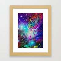 Fox Nebula Framed Art Print