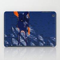 Blue deer iPad Case