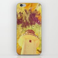 optic lines iPhone & iPod Skin