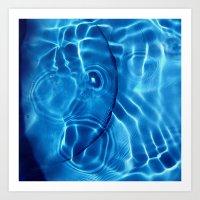 Water / H2O #14 Art Print