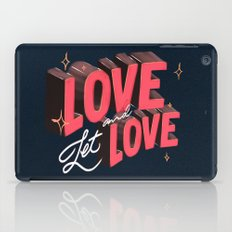 Love & Let Love iPad Case