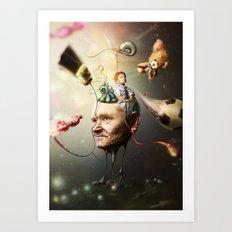 Mental Age Art Print