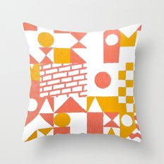 GRID II Throw Pillow
