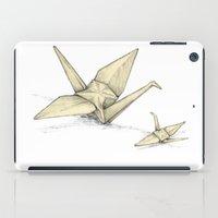 Paper Cranes iPad Case