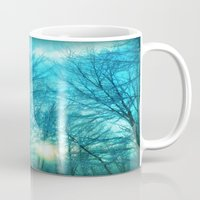 Landscape ~ Winter sunset Mug