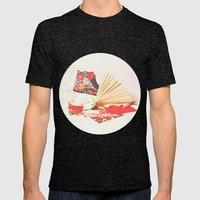 Marie Antoinette II Mens Fitted Tee Tri-Black SMALL