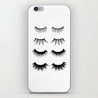 Beauty Lashes iPhone & iPod Skin