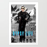GYPSY LIFE Art Print