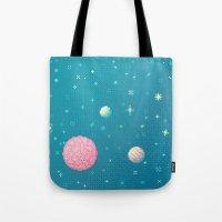 Brain Planet (8bit) Tote Bag