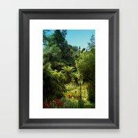 Heligan Gardens 1/4 Framed Art Print