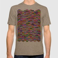 A Good Day Mens Fitted Tee Tri-Coffee SMALL