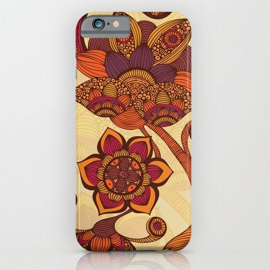 Boho Flowers iPhone & iPod Case