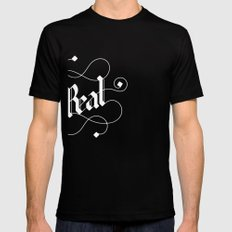 real Black Mens Fitted Tee SMALL