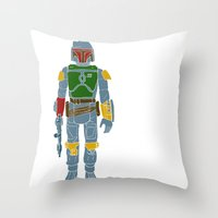 My Favorite Toy - Boba F… Throw Pillow