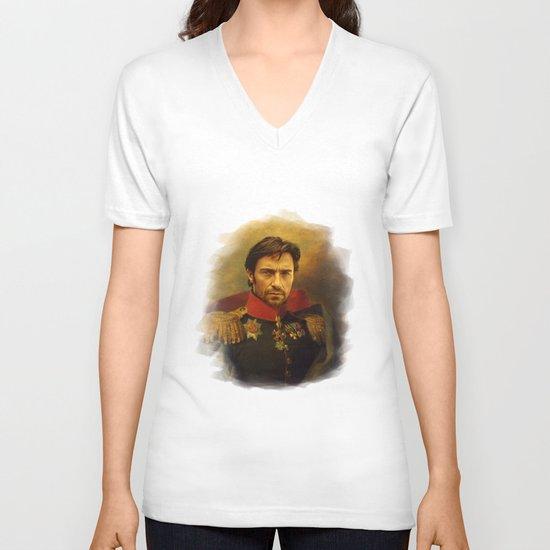 Hugh Jackman - replaceface V-neck T-shirt