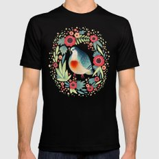 Fruit Dove I Mens Fitted Tee Black SMALL