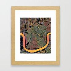 New Orleans Color Framed Art Print