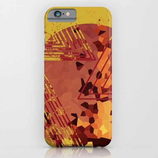 Polygons of a Photograph iPhone & iPod Case