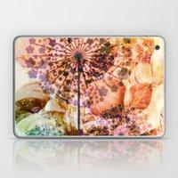dandelion in warm tones Laptop & iPad Skin