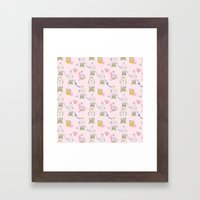 The Decorated Egg Framed Art Print