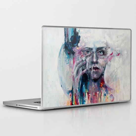 a hint of color Laptop & iPad Skin