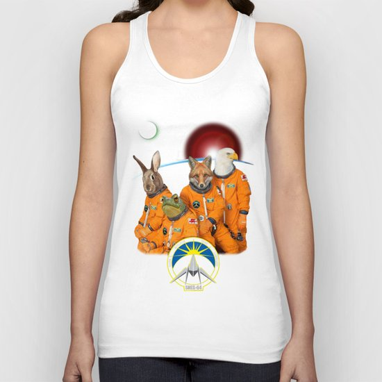STARFOX - The Lylat Space Program Unisex Tank Top