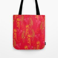 Tropical Birds - Summer School Tote Bag