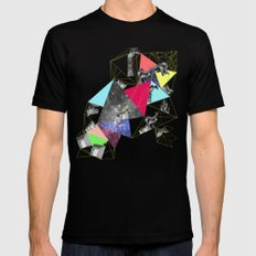 Surface II SMALL Black Mens Fitted Tee