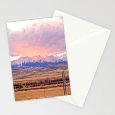 Those Crazy Mountains Stationery Cards