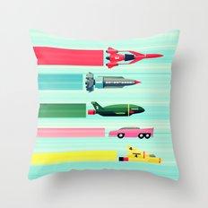THUNDERBIRDS! Throw Pillow