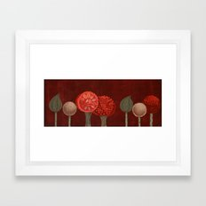 Autumnal Grove Framed Art Print