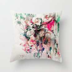 Watercolor Elephant And … Throw Pillow