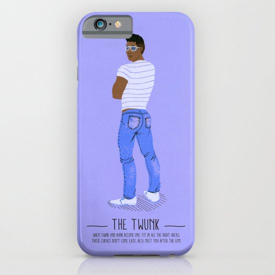 The Twunk - A Poster Guide to Gay Stereotypes iPhone & iPod Case