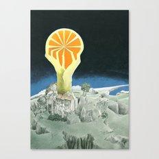 Orange city Canvas Print