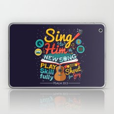 Psalm 33 Laptop & iPad Skin