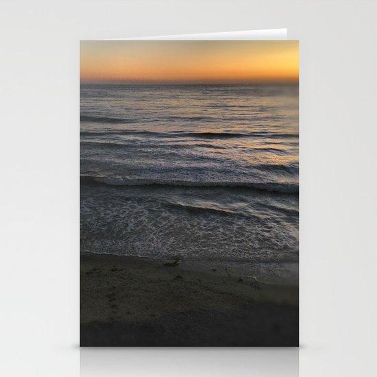 sunset Stationery Card