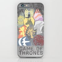 iPhone & iPod Case featuring The Iron Throne by Tristan Graham