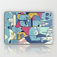 Laptop & iPad Skin featuring The Life Acquatic With S… by Ale Giorgini