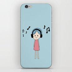 Listening iPhone & iPod Skin