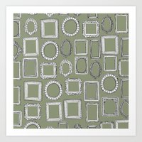 Picture Frames Herb Art Print