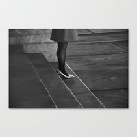 Waiting For Prince Charm… Canvas Print