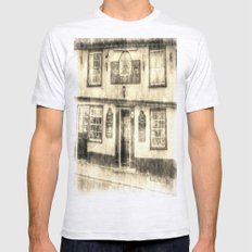 The Coopers Arms Pub Rochester Vintage Mens Fitted Tee Ash Grey SMALL