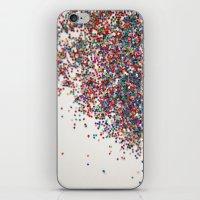 Fun II (NOT REAL GLITTER… iPhone & iPod Skin