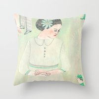 Mea Culpa Throw Pillow